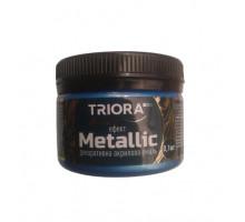 Эмаль акриловая декоративная Triora Metallic голубая бронза (0,1 кг)