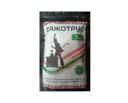 «Сажотрус» - средство для очистки сажи и смолы в дымоходах, печах и каминах