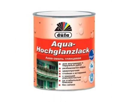 Аква-эмаль акриловая Dufa Aqua Hochglanzlack (0,75 л)