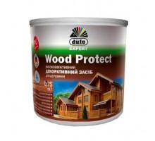 Пропитка декоративная для дерева Wood Protect Dufa (0,75 л)