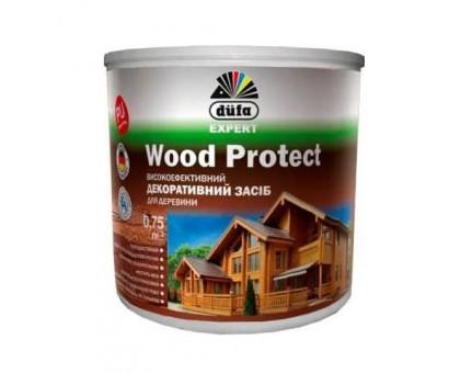 Пропитка декоративная для дерева с воском Wood Protect Dufa (0,75 л)