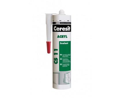 Акриловый герметик Ceresit CS 11 (280 мл)