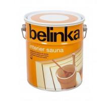 Лазурь для бань и саун Belinka Interier Sauna (0,75 л, 2,5 л)