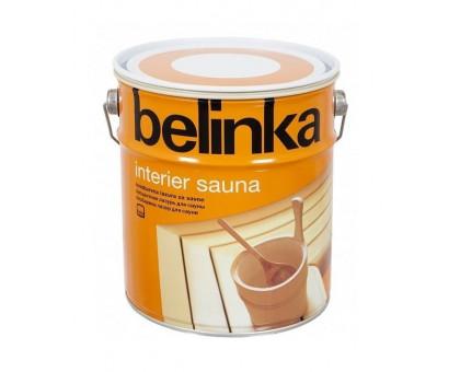 Водная лазурь для бань и саун Belinka Interier Sauna (0,75 л, 2,5 л)