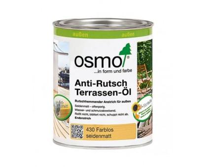 Масло для террас с антискользящим эффектом OSMO Anti-Rutsch Terrassen-Ole 430 (0,125 л, 0,75 л, 2,5 л)