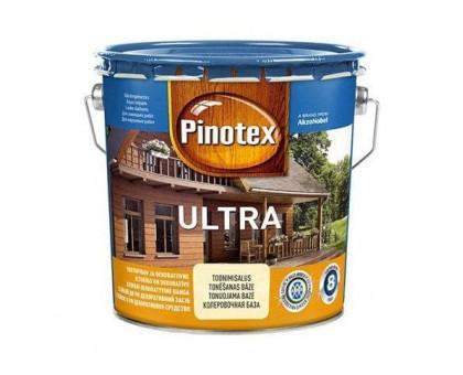 Пропитка для дерева с лаком Pinotex Ultra Lasur