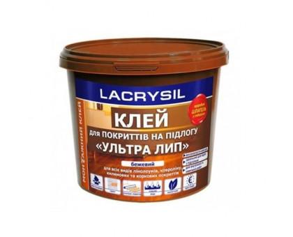 Клей акриловый для напольных покрытий «Ультра Лип» Lacrysil (12 кг)