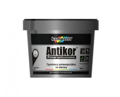 Грунтовка антикоррозийная по металлу Kompozit ANTIKOR (3,5 кг) без запаха