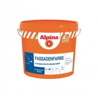 Краска фасадная акриловая Alpina Expert Fassadenfarbe (10 л / 14 кг)