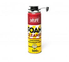 Очиститель монтажной пены BeLife Foamcleaner (500 мл)