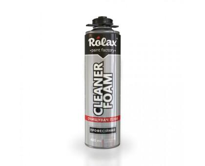Очиститель монтажной пены Rolax Foam Cleaner (400 мл)