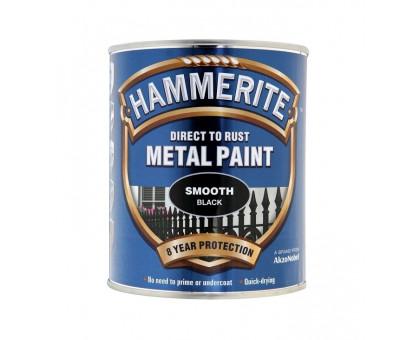 Краска Hammerite антикоррозийная гладкая глянцевая (2,5 л)