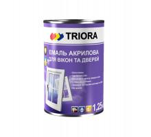 Эмаль акриловая для окон и дверей TRIORA (1 л)