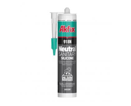 Герметик силиконовый Akfix 918N нейтральный