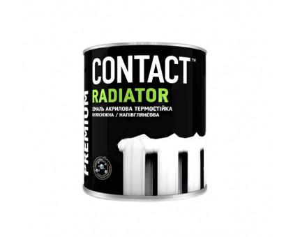 Эмаль акриловая для радиаторов отопления Днепр-Контакт (0,75 кг)