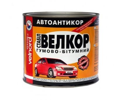 Мастика битумно-резиновая VELVANA Велкор (0,8 кг, 1,8 кг, 4 кг)