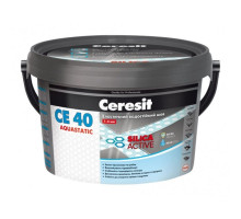 Затирка для швов плитки Ceresit СЕ 40 Aquastatic (2 кг)