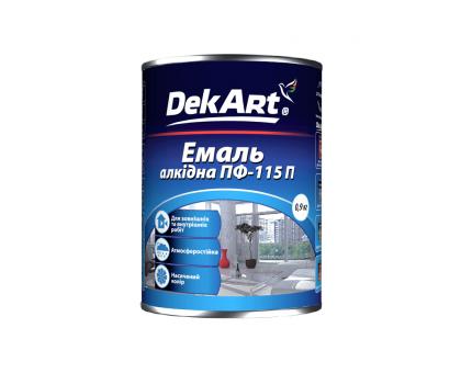 Эмаль алкидная DekArt ПФ-115П (0.9 кг)