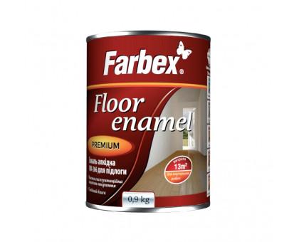 Эмаль алкидная Farbex для пола ПФ-266 (2,8 кг)