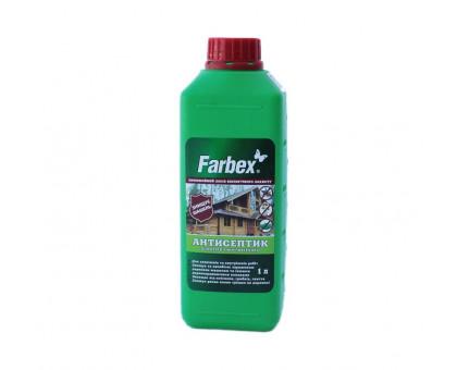Антисептик для деревянных поверхностей Farbex (1л) готовый