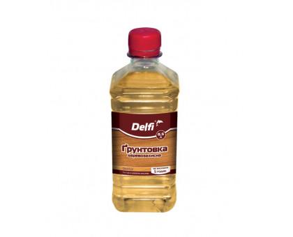 Грунтовка деревозащитная Delfi (0,5 л)