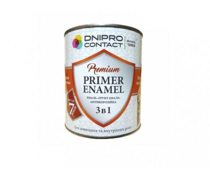 Грунт-эмаль 3 в 1 «Днепр-Контакт» (0,9 кг)