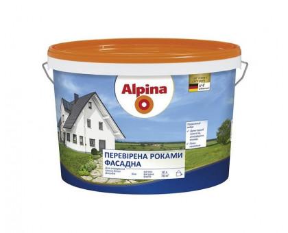 """Краска фасадная акриловая Alpina """"Проверенная годами"""" (18 л / 25 кг)"""