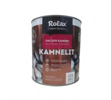 Лак для камня Rolax «Kamnelit» на смолах (2,5 л)