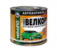 Мастика битумно-каучуковая VELVANA Велкор (0,8 кг, 1,8 кг, 4 кг)