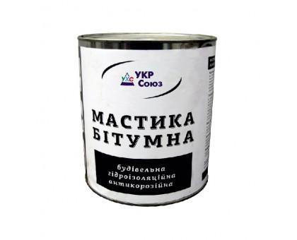 Мастика битумная гидроизоляционная антикоррозийная УкрСоюз (3,5 кг)