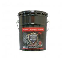 Мастика битумно-каучуковая BITUGUM для фундамента (18 кг)