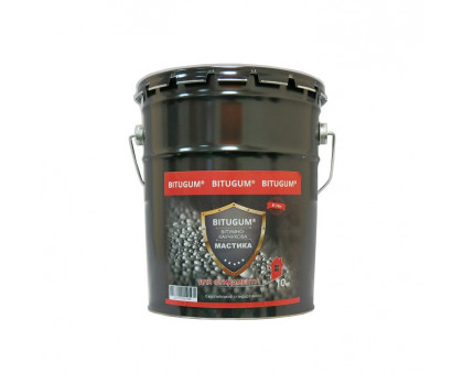 Мастика битумно-каучуковая для фундамента BITUGUM (18 кг)