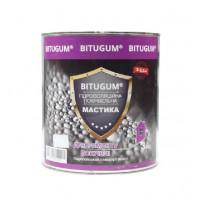 Мастика битумно-каучуковая BITUGUM для кровли (3 кг, 5 кг)