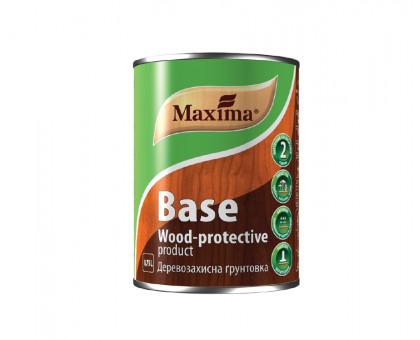Деревозащитная грунтовка Maxima BASE (0,75 л) бесцветная