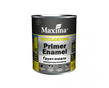 Грунт-эмаль быстросохнущая Maxima (0.75 кг)