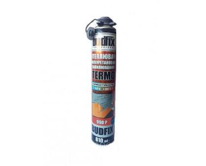 Напыляемый утеплитель Budfix Termo 990 Р полиуретановый (810 мл)