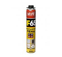 Пена монтажная профессиональная Belife F65 (всесезонная) 850 мл