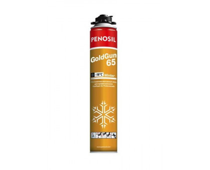 Пена монтажная Penosil Gold Gun 65 Winter (65 л) зимняя
