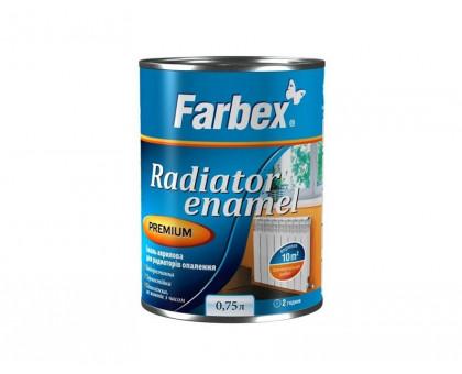 """Эмаль стирол-акриловая для радиаторов отопления """"Farbex"""" (0,75 л, 3 л)"""