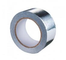 Скотч фольгированный алюминиевый (48 мм х 25 м)