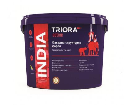 Краска структурная фасадная акриловая Triora INDIA (15 кг)