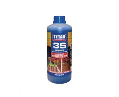 Биозащита Tytan 3S для дерева (1 кг, концентрат 1:9)